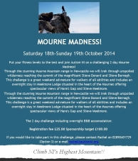 Mourne Madness - Climb NI's Highest Mountain!