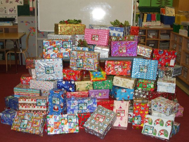 Ulidia Integrated College | Year 8 Shoe Box Appeal