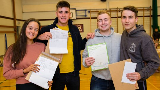 Celebrating Exam Results at Ulidia